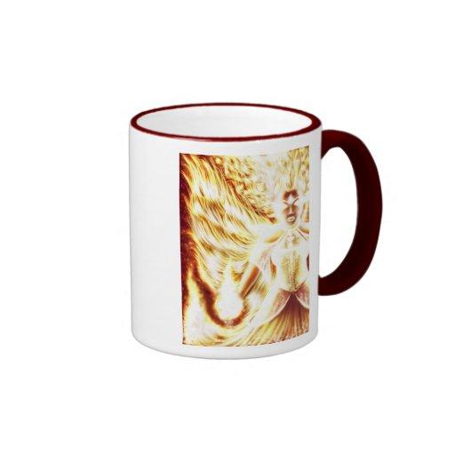 Fire Elemental Mug 2 by Nellis Eketorp