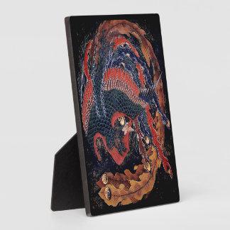 Fire Elemental - Phoenix by Hokusai - Plaque