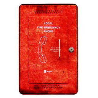 Fire emergency phone flexible magnet