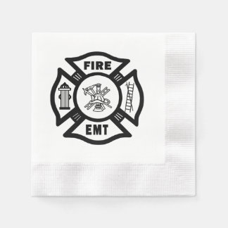 Fire EMT Disposable Napkin