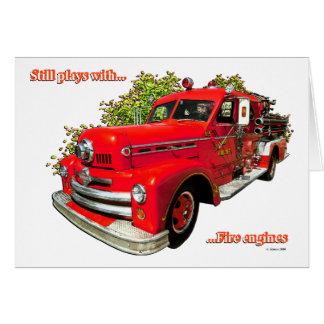 FIRE ENGINE #3 CARD
