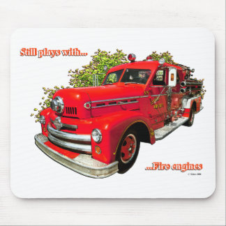 FIRE ENGINE #3 MOUSE PAD