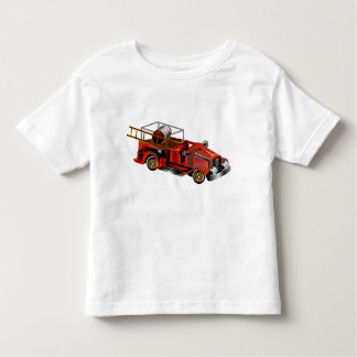 "Fire Engine ""add your own Name"" Toddler T-shirt"