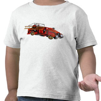 Fire Engine add your own Name Tee Shirts
