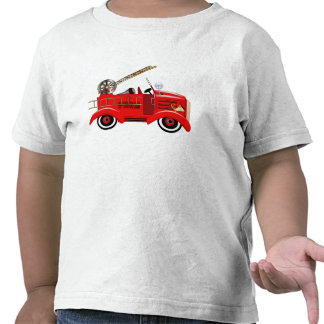 Fire Engine add your own Name T-shirt