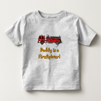 Fire Engine Daddy Firefighter T-shirts and Gifts