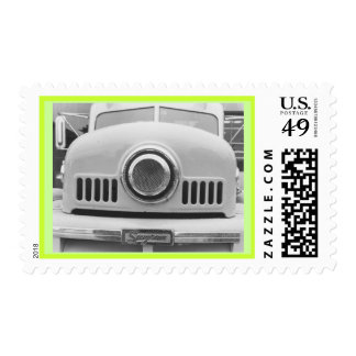 Fire Engine Green Postage Stamps