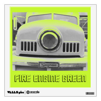 Fire Engine Green Wall Sticker