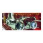 Fire Engine Horns and Bell Custom Rack Card
