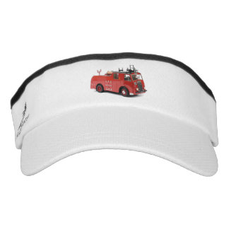 Fire Engine image for Knit Visor, White Visor
