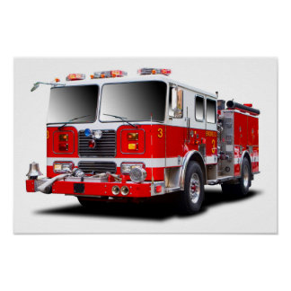 Fire Engine images for poster