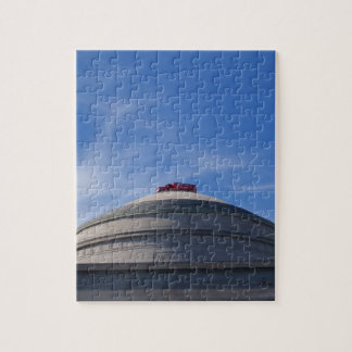 Fire Engine on top of building Jigsaw Puzzle