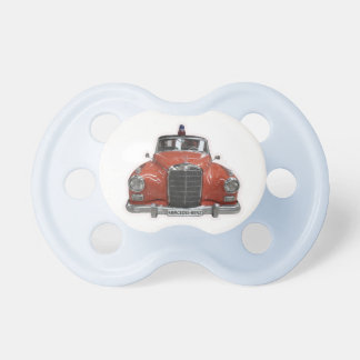 Fire engine pacifier