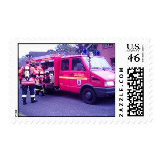 Fire-engine Stamp