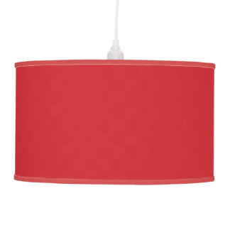 Fire Engine Red Ceiling Lamp