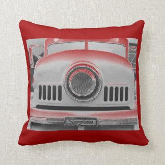 Fire Engine Red & Green Pillows