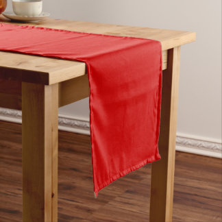 Fire Engine Red Table Runner Template