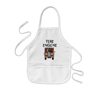 Fire Engine T-shirts and Gifts Kids' Apron