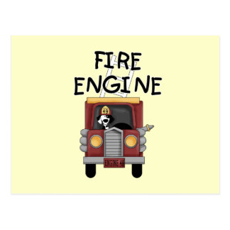 Fire Engine T-shirts and Gifts Postcard