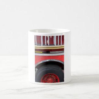 Fire Engine Wheel Magic Mug