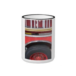 Fire Engine Wheel Ringer Mug