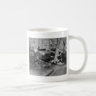 Fire Engine Wreck, 1922 Coffee Mug