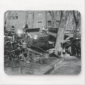 Fire Engine Wreck, 1922 Mouse Pad