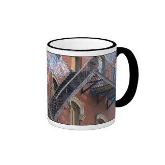 Fire Escape Coffee Mugs