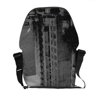 Fire Escape Stairs Messenger Bags