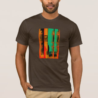 Fire exit urban collage T-Shirt