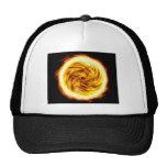 Fire explosion trucker hat