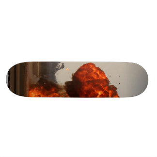 Fire Explosions Skate Deck