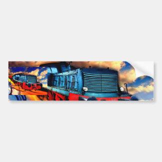 Fire express bumper sticker