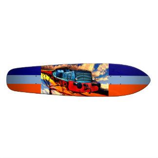 Fire express custom skateboard