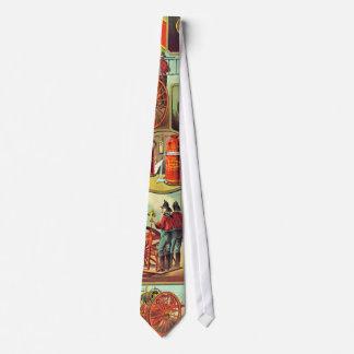 Fire Extinguisher Ad 1880 Tie