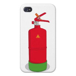 Fire extinguisher iPhone 4/4S case