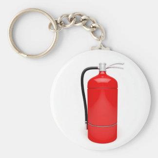 Fire extinguisher keychain