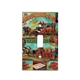 Fire Extinguisher MFG Co. Light Switch Cover