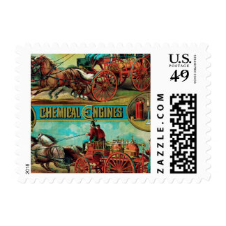 Fire Extinguisher MFG Co. Postage Stamps