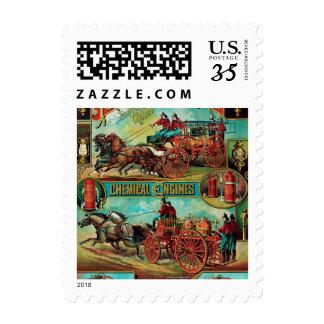 Fire Extinguisher MFG Co. Postage Stamp