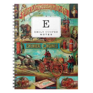 Fire Extinguisher MFG Co. Spiral Notebook
