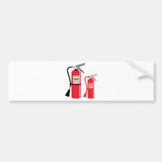 Fire extinguisher Vector Bumper Sticker