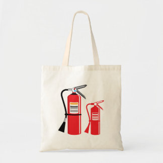 Fire extinguisher Vector Tote Bag