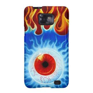Fire Eye Samsung Galaxy SII Case