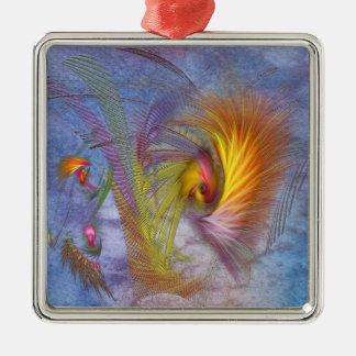 Fire Eye Metal Ornament