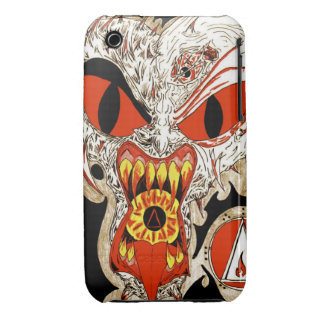Fire Face 2 for ipod touch Case-Mate iPhone 3 Case