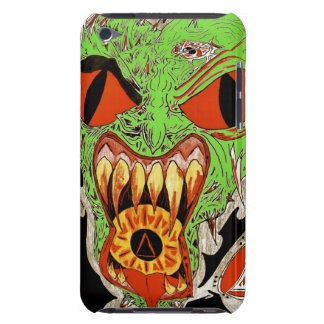 Fire Face for ipod touch Barely There iPod Cover
