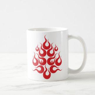 Fire Facial Mask Coffee Mug