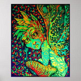 Fire Fae Canvas Print