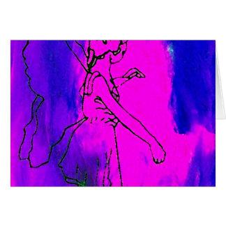 """Fire Fairy""  CricketDiane Art & Design Card"
